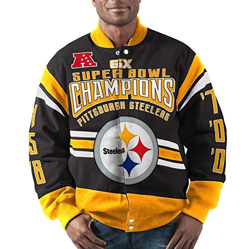 Pittsburgh Steelers Gladiator 6X Championship Cotton Twill