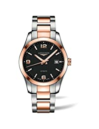 Longines Men's Conquest 40mm Steel Bracelet & Case Automatic Watch L27855567