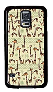 Best Samsung Galaxy S5 Case Cover Custom Phone Shell Skin For Samsung Galaxy S5 With Little Long Neck Deer