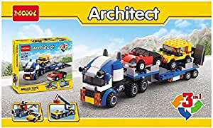 Decool Architect Brick toys 3 in 1 Building Blocks 246 Pcs