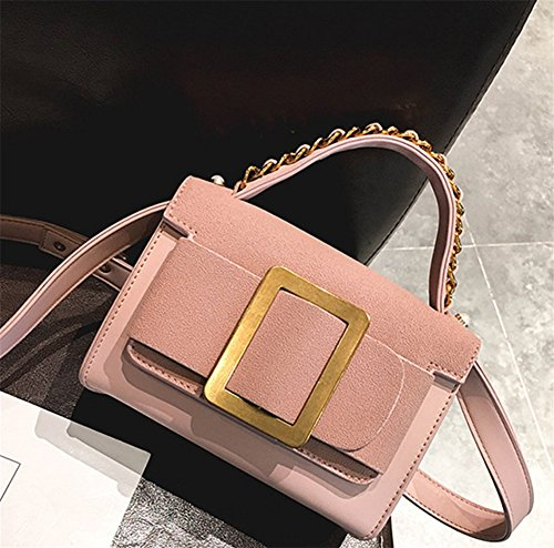 Shoulder Bao Green Pink Simple Women Bag Fashion Small Bags Personality Party Handbag Fashion Diagonal Bag Bag Chain Rubbing qUIS4U