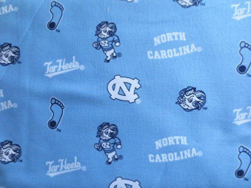 University of North Carolina Blue Tar Heels Design Cotton Fabric ()