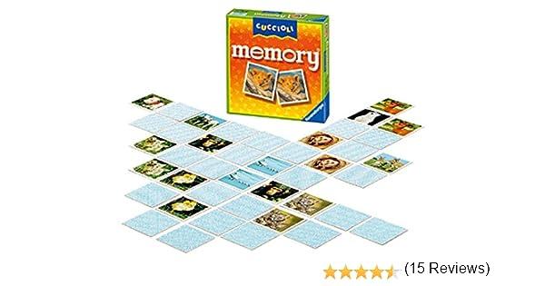 Ravensburger 21296 - Juego de Memoria, diseño de Cachorros: Amazon.es: Juguetes y juegos
