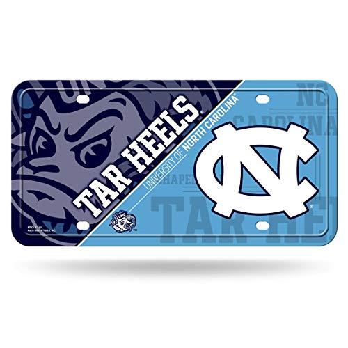 (NCAA North Carolina Tar Heels Metal License Plate Tag)