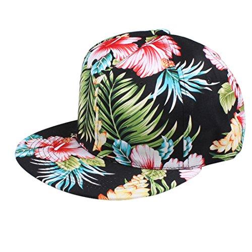 Voberry Fashion Unisex Bboy Adjustable Snapback Baseball Hat