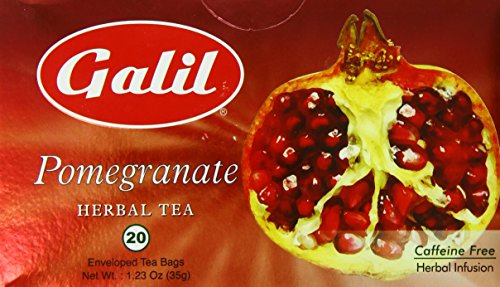 Galil Tea, Pomegranate, 20-Count Boxes (Pack of 6) For Sale