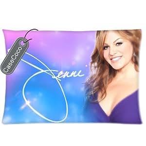 Custom Jenni Rivera Twin Sides Queen 20 x 30 Size Pre-shrunk Fabric Cotton Polyester Pillow Case Cover