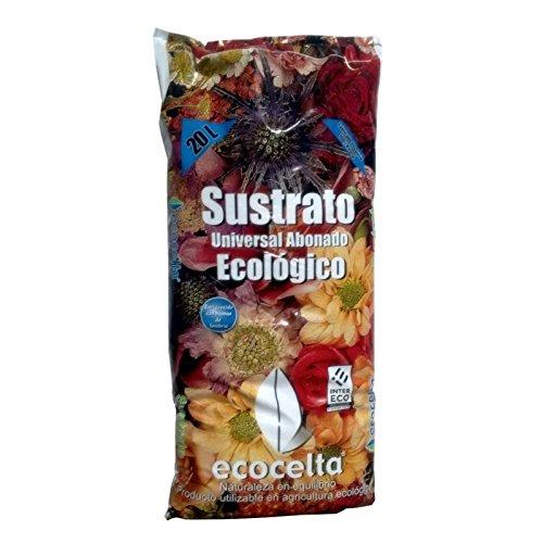Ecocelta Sustrato Universal abonado 20 l, Negro, ZA36 ...