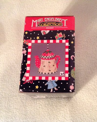 Mary Engelbreit Christmas Collection Teapot Ornament