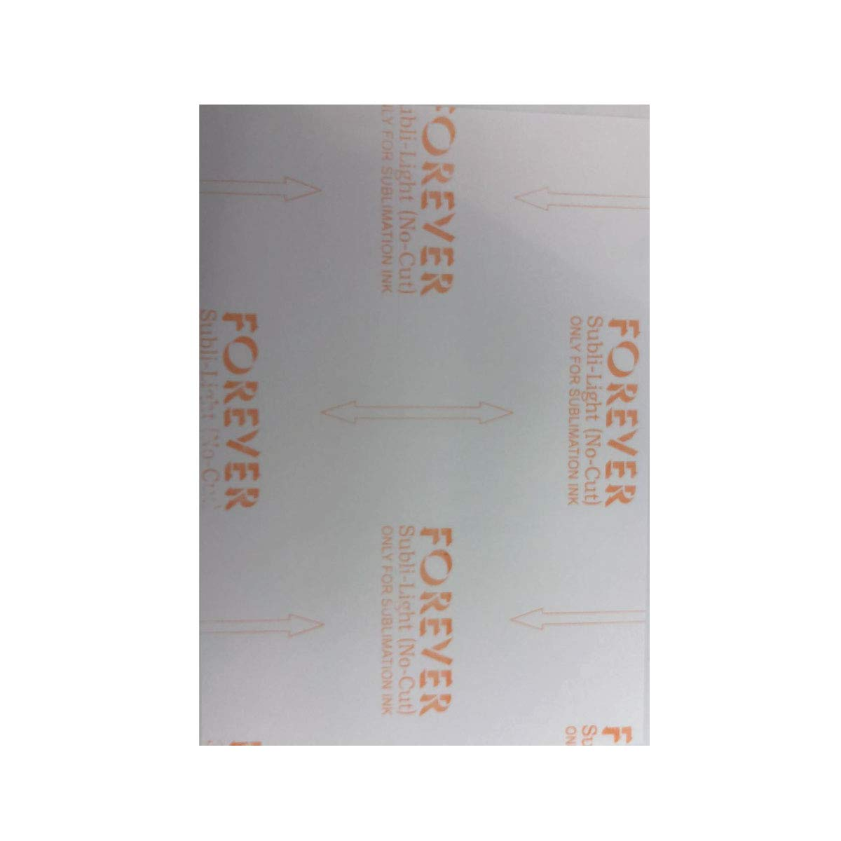 Forever Subli Light (Not Cut) 8.5''x11'' 25 Sheets by world-paper