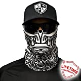 Salt Armour Shield Polynesian Tribal Face Shield Mask Hunting Fishing Outdoor