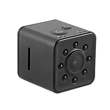 Prenine SQ13 cámara del Coche DVR Mini, cámara espía ocultada Monitor del Deporte del Video de WiFi de la visión Nocturna de HD 1080P: Amazon.es: ...