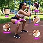NATARIFITNESS..COM  51--oryFKML._SS150_ Pulse Athletics Resistance Bands for Legs and Butt, 3 Nonslip Booty Bands, Exercise Bands, Glute, Thigh and Hip Training…