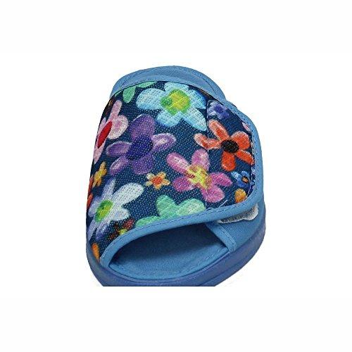Made In Spain Damen Hausschuhe Blau (AZAFATA)