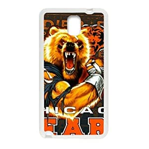 Chicago Bears Fahionable And Popular Back Case Cover For Samsung Galaxy Note3 by mcsharks