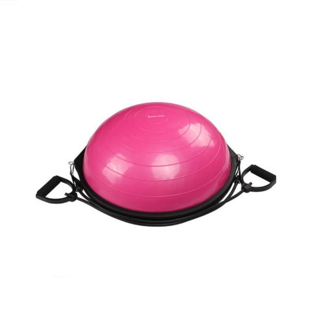 HHORD Unisex Fitness Ball Yoga-Kugel Halbkugel BalanceBody Balance Ball Interactive Training Führer Velocity Haushaltsgeräte