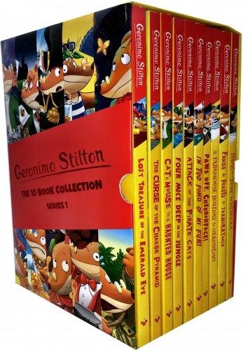 Geronimo Stilton Series 1 Collection 10 Books Box Set ()