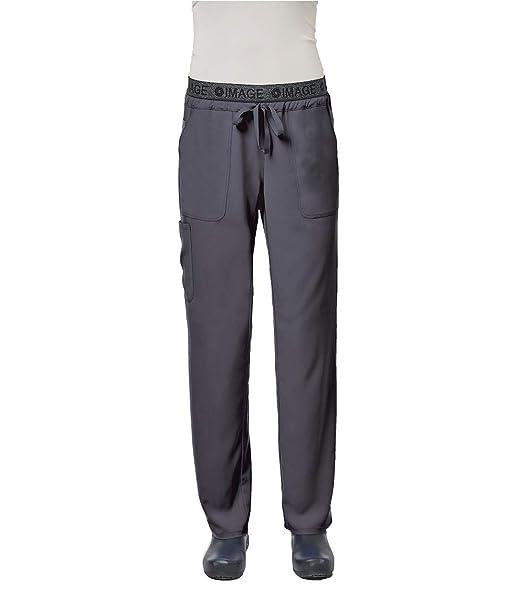 Amazon.com: Image Scrub Pantalones para mujer IM1310 estilo ...
