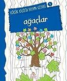 Küçük Kaşifin Boyama Kitabı Serisi 09 Ağaçlar