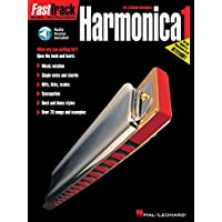 FAST TRACK HARMONICA BOOK ONE BOOK (Fast Track (Hal Leonard)) ( Download code included) (Includes Online Access Code)