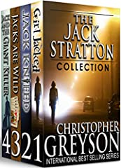 The Detective Jack Stratton Mystery-Thriller Collection is on sale for a limited time. This top-rated Mystery-Thriller Series has over 3000 Five-Star reviews with more than a half-a-million readers and counting. If you love mysteries with act...
