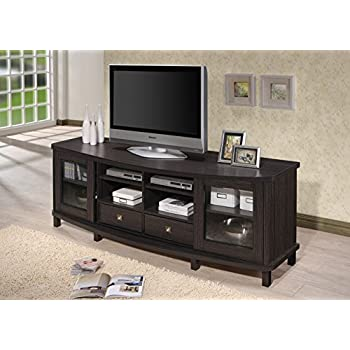 Baxton studio wholesale interiors walda wood tv cabinet with 2 sliding doors and 2 for Wholesale interiors baxton studio 71 tv stand