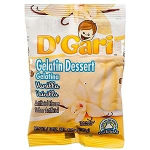 Amazon.com: New 378154 D'gari Milk Gelatin Vanilla 4.2Z