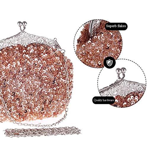 Anti Main De De Rouille De Luxe Rétro en à à Sac G A La Haut élégant Option Mariée Sac Soirée Multicolore XRKZ Incrusté Main Mode Sac Diamant Gamme 5qa77T