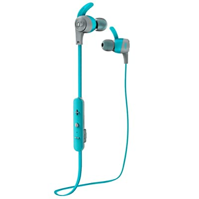 Monster iSport Achieve - Auriculares Tipo In-Ear inalámbricos, Color Azul