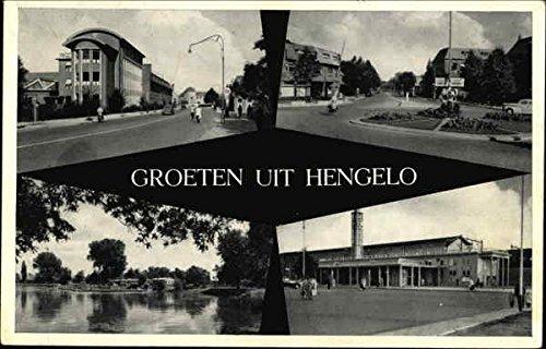 Groeten Uit Hengelo Benelux Countries Netherlands Original Vintage Postcard