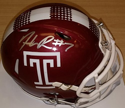 Haason Reddick Temple Autographed College Football Mini-Helmet