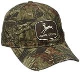 John Deere Embroidered Logo Baseball Hat - One-Size - Men's - Mossy Oak