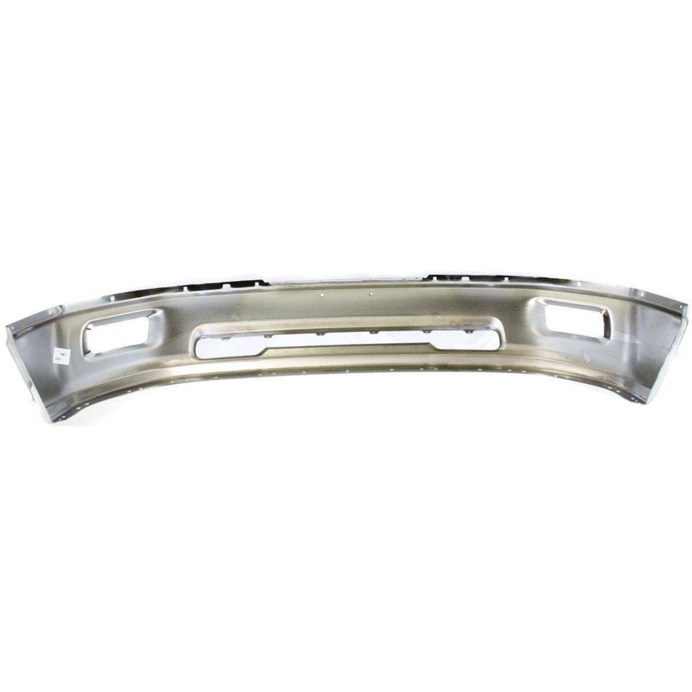 Bumper for Dodge Ram 1500 P//U 09-12 Front Bumper Chrome w//Rectangular Fog Light Holes