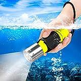 HECLOUD Scuba Diving Flashlight Snorkeling Dive