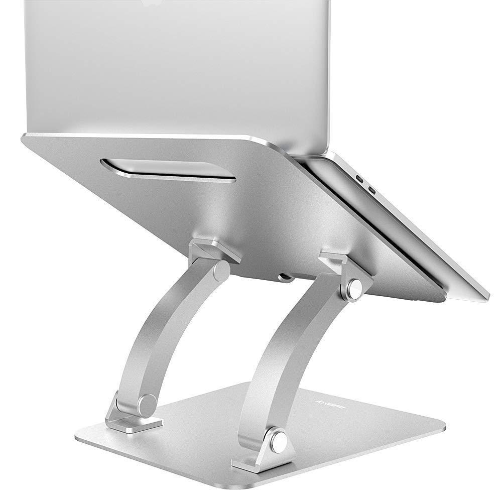 Nulaxy ajustable soporte para portátil de refrigeración de aluminio: Amazon.es: Oficina y papelería