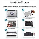 "POWERWOO Laptop Battery for MacBook Air 13"" A1466"