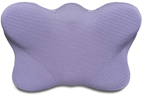 CPAP Pillows for Side Sleepers - Contoured Memory Foam CPAP Pillow with Cover Reduces Mask Pressure, Air Leaks | CPAP Pillows for Sleeping Restfully, CPAP Compliance (Best Full Face Cpap Mask For Side Sleepers)