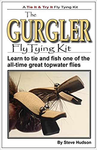 Book Gurgler Fly Tying Book and Kit