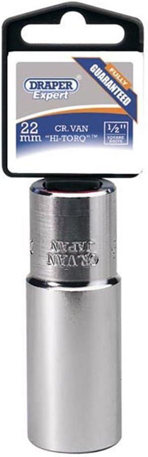 Draper 28266 Expert Prise 12 points Hi-torq 1//2 carr/é profonde 18 mm