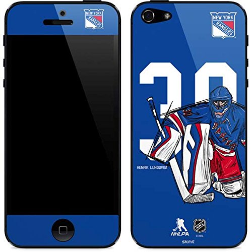 Amazon Com New York Rangers Iphone 5 5s Se Skin Henrik Lundqvist
