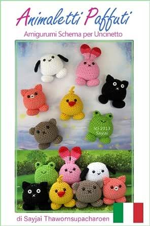 Tutorial GATTINI amigurumi all'uncinetto - crochet little cats ... | 445x296