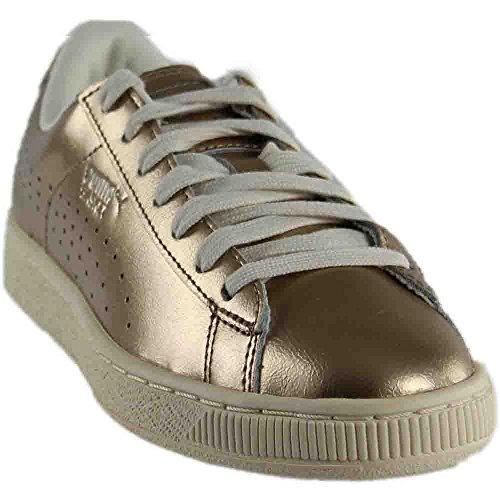 PUMA Metallic Basket Metallic Women's Citi Classic Sneakers r1qra8