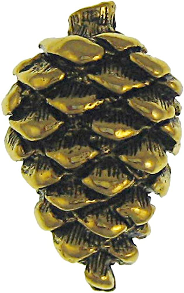 Jim Clift Design Pine Cone Gold Lapel Pin