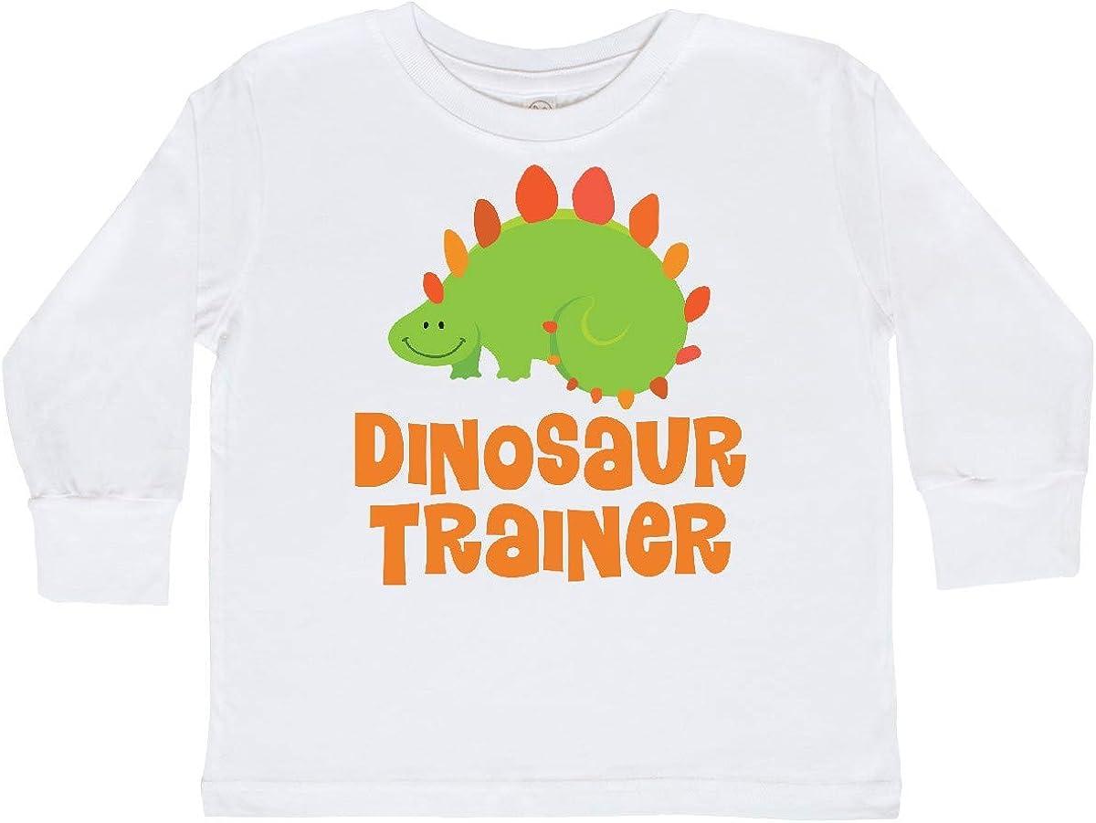 inktastic Dinosaur Trainer Toddler Long Sleeve T-Shirt