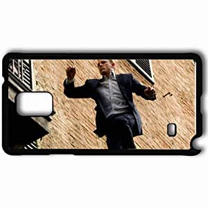 Personalized Samsung Note 4 Cell phone Case/Cover Skin Agent 7 movies Black