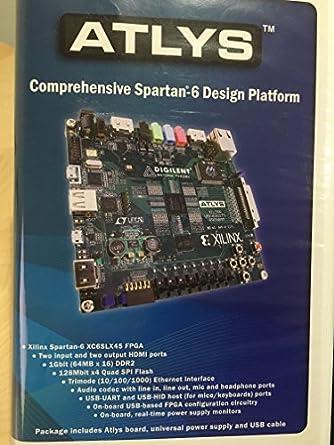Amazon com: Atlys Spartan®-6 FPGA Development Kit: Industrial