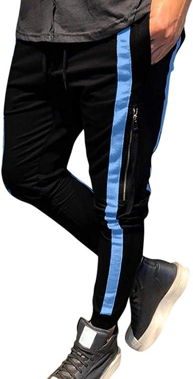 DUJIE Pantalone Casuales Transpirable Color Sólido Pantalones ...