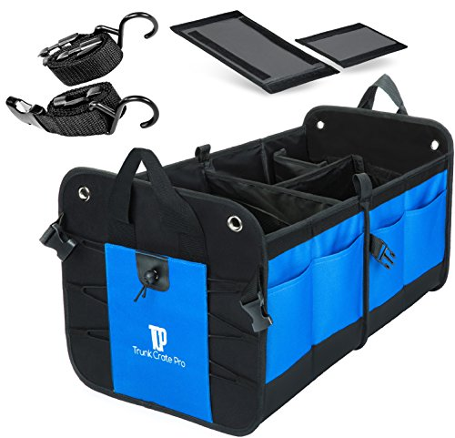 TrunkCratePro Collapsible Portable Compartments Organizer product image