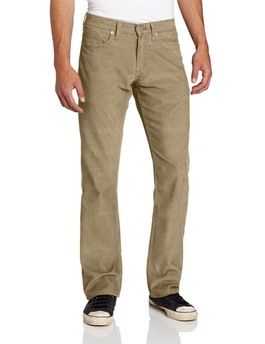 Levi's Men's Big-Tall 559 Relaxed Straight Fit Rinsed Corduroy Pant, Timberwolf, 60x32