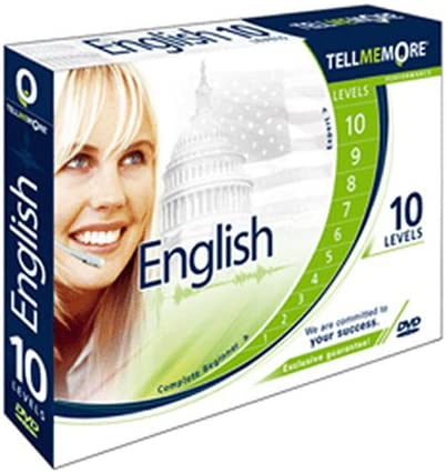 Tell Me More English Performance Version 9 10 Levels Amazon Ca Software